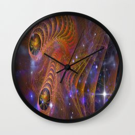 Keepers of Cosmic Change Wall Clock