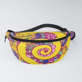 Colorful Snail Fanny Pack