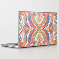 tape Laptop & iPad Skins featuring Tape Image by Danny Ivan