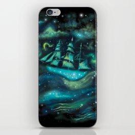 Space Ship iPhone Skin