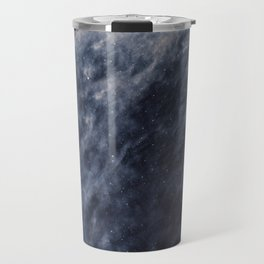 Blue Clouds, Blue Moon Travel Mug