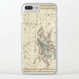 Alexander Jamieson - Celestial Atlas 1822 Plate 4 Clear iPhone Case
