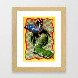 Catapillar Framed Art Print