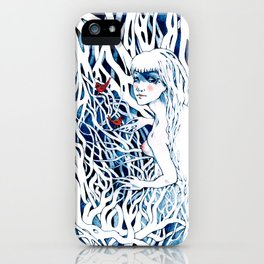 Tangled Woods iPhone Case