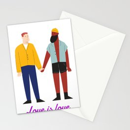 Love Remains Love Stationery Cards