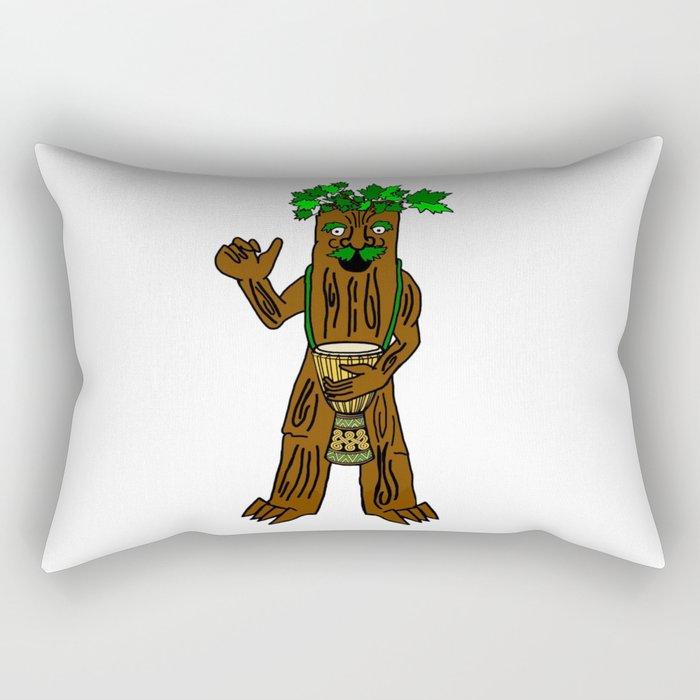 Ent With Drum Rectangular Pillow