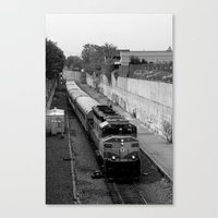 trainspotting Canvas Prints featuring Trainspotting  by Plecinoga Photography