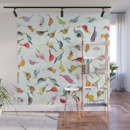 The Birds Wall Mural