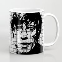 stephen king Mugs featuring Stephen Hawking by Silvio Ledbetter