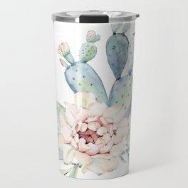 Perfect Cacti Rose Travel Mug