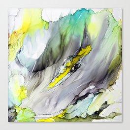 Iris Abstract Canvas Print