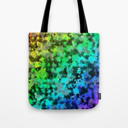 Starrider -- Abstract cubist color expansion Tote Bag