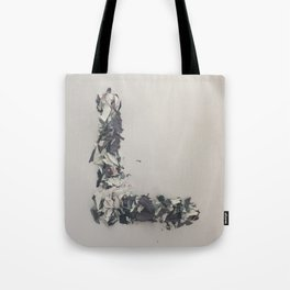 Letter L in Paint Tote Bag