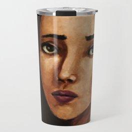 Portrait of Girl (Mora) Travel Mug