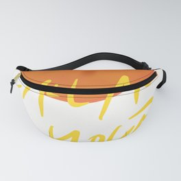 Peach Call Me By Your Name CMBYN Fanny Pack