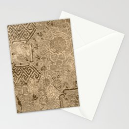Bronze Vintage Boho Chic Delight Stationery Cards