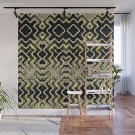 Tribal Gold Glam Wall Mural