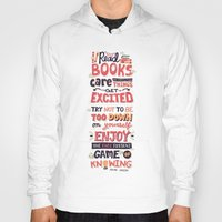 risa rodil Hoodies featuring Read Books by Risa Rodil