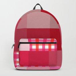 Pixels And Gingham II Backpack