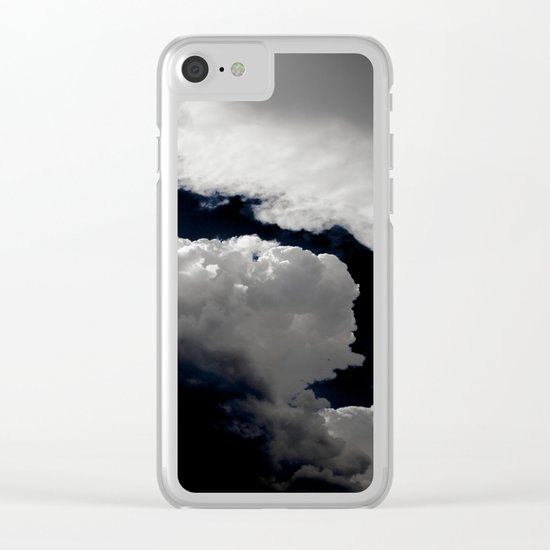 Dark sky Clear iPhone Case