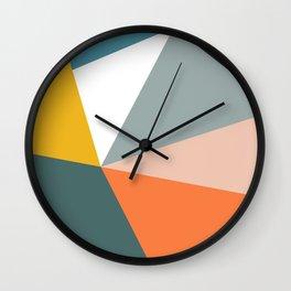 Modern Geometric 33 Wall Clock