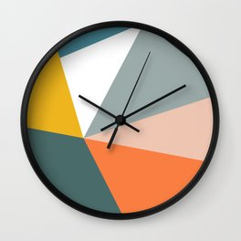 Modern Geometric 33 Wall Clock