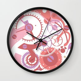 Fairytale clockwork machine Wall Clock