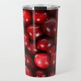 Cranberry pattern Travel Mug