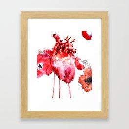 Break your Heart Framed Art Print