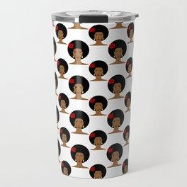 I love my afro hair Travel Mug