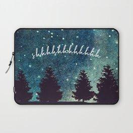 Shhhhhhhhhhh Laptop Sleeve