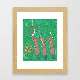 Ladies' Constitutional Framed Art Print