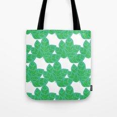 Peacock Plant Print Tote Bag