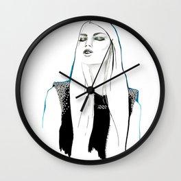 Aquarius Zodiac Sign Wall Clock