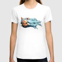 princess mononoke T-shirts featuring Princess Mononoke by Lara Frizzell