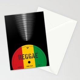 VINYL MUSIC / Reggae Stationery Cards