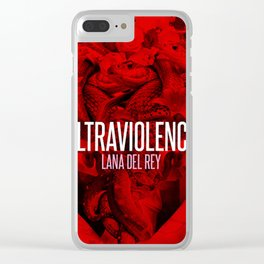 Ultraviolence Clear iPhone Case
