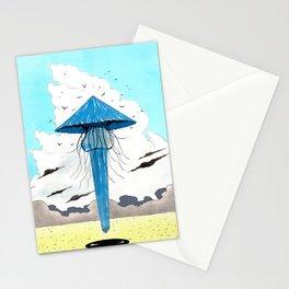 Méduse volante #3 Stationery Cards