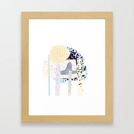 Tropical Iceland Framed Art Print