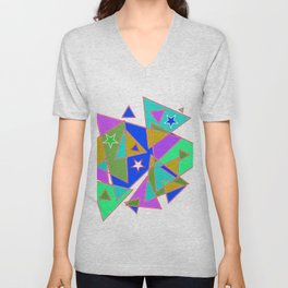 In triangle Unisex V-Neck