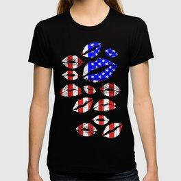 Kiss The Flag T-shirt