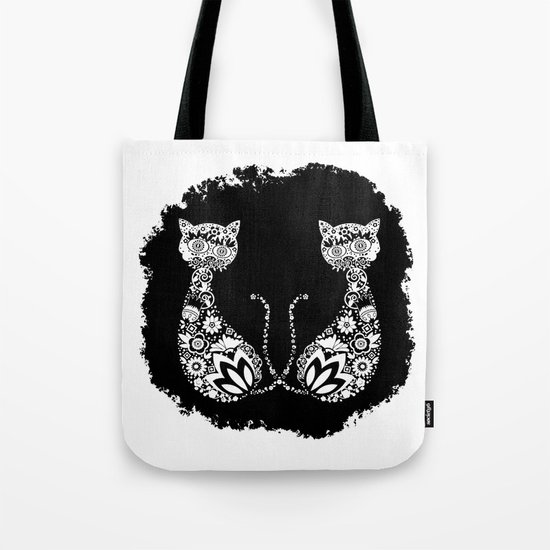 Cats Of Inversion - Digital Work Tote Bag