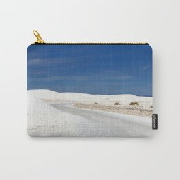 White Sand Reaches Up To The Horizon Carry-All Pouch
