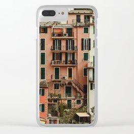 riomaggiore Clear iPhone Case