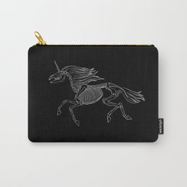 Unicorn Skeleton Carry-All Pouch