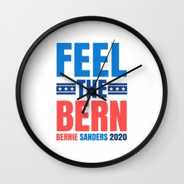 FEEL THE BERN BERNIE SANDERS 2020 Wall Clock