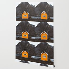 Yellow Cabin Wallpaper