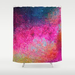 Pink Galaxy 2 Shower Curtain