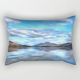 Loch Lomond (Painting) Rectangular Pillow