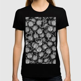 Kettlebells B&W T-shirt